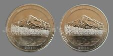 2010 P&D Mount Hood National Park Quarters 2-Coin Set - Choice BU