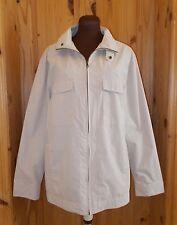COTTON TRADERS beige oatmeal unisex mens ladies rain coat jacket BNWT M 14 42