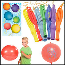8* Large Punch Balloons Punchballs Children Bouncy Party Bag Fillers Wholesale