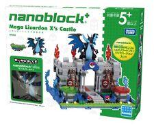 Kawada PP-005 nanoblock plus Pokemon Mega Charizard Lizardon X Castle New Japan