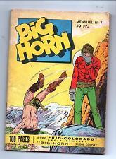 BIG HORN n°7 - Editions SER Lyon. 1958 - Bel état