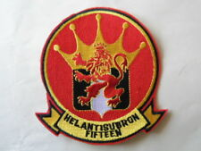 PATCH US NAVY Helicopter Anti-Submarine HELANTISUBRON 15 HS-15 RED LIONS
