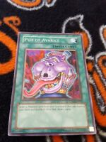 Yugioh Pot of Avarice unlimited edition silver rare CP01