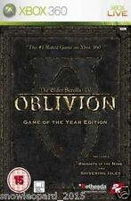 Elder Scrolls 4 IV Oblivion - Game of the year edition Xbox 360 New UK Release