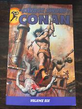The Savage Sword of Conan, Volume 6 (Anglais) Broché