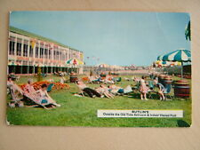 Postcard - BUTLIN'S Outside the Old Time Ballroom & Pool. Unused. Standard size.