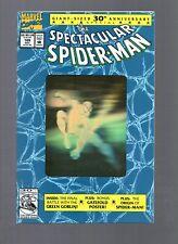 LOT C OF 5 SPECTACULAR SPIDER-MAN #189 NM 9.4 GOLD FOIL HOLOGRAM CV 1992 MARVEL