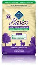 Blue Buffalo Basics Adult Dog Turkey & Potato Recipe - Grain Free 11 lb