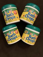 Crayola Color Bath Dropz Water-Coloring Tablets, 3.59 oz, 60 Ct - Lot Of 4 - New