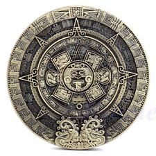 Mayan Aztec Calendar Souvenir Prophecy Souvenir Token Coin Art Collection Gift