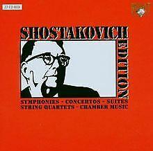 Shostakovich-Edition de Barshai, Rudolf, Orchestra sinfoni... | CD | estado bien