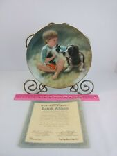 "COLLECTOR PLATE HAMILTON-THE MAGIC OF CHILDHOOD ""LOOK ALIKES"" w/COA"