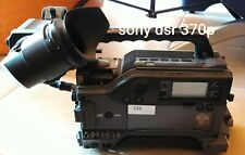 SONY  DSR 370 P   CAMCORDER  DVCAM