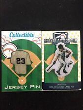 "New York Yankees Don Mattingly jersey lapel pin-Collectible-""The HITMAN""-set (2)"