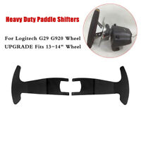 Heavy Duty Paddle Shifters for Logitech G29 G920 Concave Steering Wheel 13-14""
