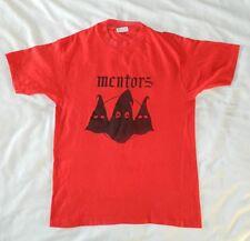 MENTORS shirt t vintage tshirt tour EL DUCE Seattle wino st vitus gg allin 80s