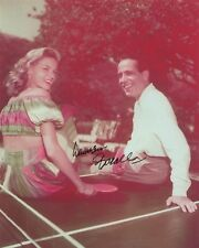 Lauren Bacall signed 8x10 photo / autograph Humphrey Bogart