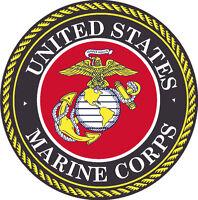 US U.S. Marine Corps Seal Wall Window Vinyl Decal Sticker Military