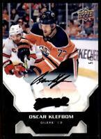 2020-21 UD MVP Super Script Black #119 Oscar Klefbom 5/5 - Edmonton Oilers