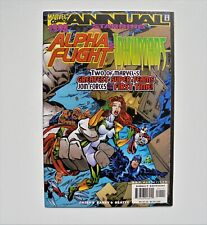 1998 ANNUAL STARRING ALPHA FLIGHT & INHUMANS 1998 MARVEL NM HUGE COMIC AUCTION