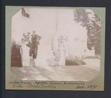 Grand Duke Michael Romanov of Russia Cannes 1891 - Antique Photo