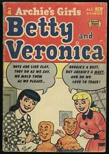 Betty and Veronica #4 G 2.0 1951 precode Archie
