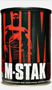 Universal Animal M-Stak 21 packs All Natural Muscle Building Stack
