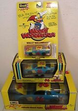 1997 REVELL NASCAR WALLY DALLENBACH WOODY WOODPECKER DIE-CAST STOCK CAR LOT OF 3