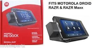 HD Multimedia Desk Dock Charger for Motorola Droid Razr XT910 & Razr Maxx