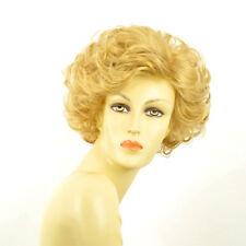 Perruque femme courte blond clair doré KIMBERLEY LG26
