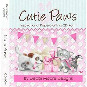 Debbi Moore Cutie Paws Inspirational Papercrafting CD Rom (320356)