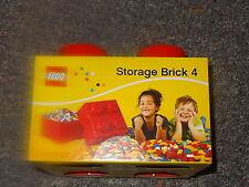 Lego Storage Brick 4 Red Lego Storage Box New Large Lego Storage Container Block