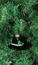 Irish Derby, Hat, St. Patrick's Day, Notre Dame Christmas  Ornament