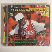 Vybz Kartel Most Wanted cd 12 titres neuf sous blister