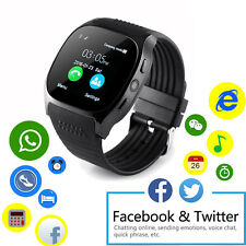 Bluetooth Smart Watch SIM TF Card Slot Unlocked Wrist Watch for Android Phones