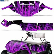 New Yamaha Golf Cart Graphic Kit Decal Sticker Parts 2 Seater Wrap 95-06 P-FLAME