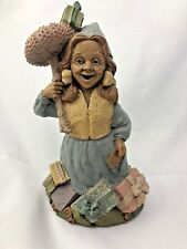 April Tom Clark Gnome Girl Rare Magical Mushroom girl Spring