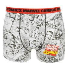 Men's Marvel Mens Comic Boxers Size M
