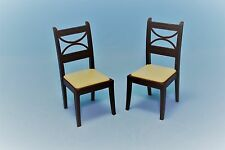 Vtg Doll House Dollhouse Miniature Renwal Plastic Furniture Kitchen Chair Set