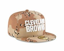 New Era 59FIFTY Cleveland Browns Fitted Hat Camouflage Desert Camo 7 1/4 NFL