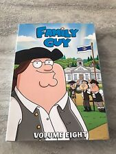 Family Guy Volume Eight 8 DVD 3 Disc Set Great Condition