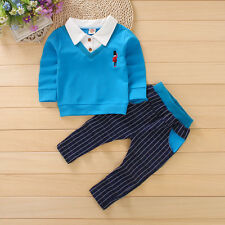 2PC Baby Kids Boy Clothes Outfit Toddler Boys Clothing Party Suits Outfits Sets