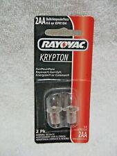 RAYOVAC KRYPTON 2AA Bulb 2 Pack-Fit Garrity/Coleman/Energizer/Rayovac/Flashlight