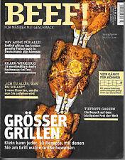 BEEF! Grösser Grillen Kochmesser Dry Aging Heft Nr. 11 Ausgabe 3/2012 Sehr gut!