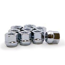 10 Lug Nuts Open End Bulge Acorn 12x1.5 Chrome Wheel Nut