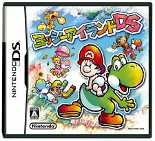 Used Nintendo DS Yoshi's Island DS Japan Import Free Shipping