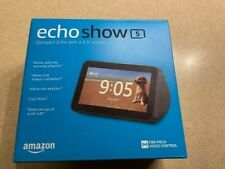 Amazon Echo Show 5 Smart Display with Alexa - Charcoal Hands Free Video Calling