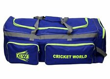 MEGAPAK Cricket Kit Bag With Wheels College Carry Bag For Sports Equipment Blue
