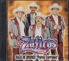 Los Zafiros Del Norte Raza De Bronce Puros Corridos CD New Nuevo sealed