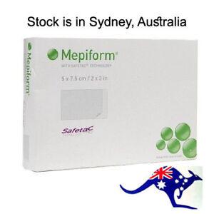Mepiform Silicone Scar Dressing 5cm x 7.5cm Box of 5
